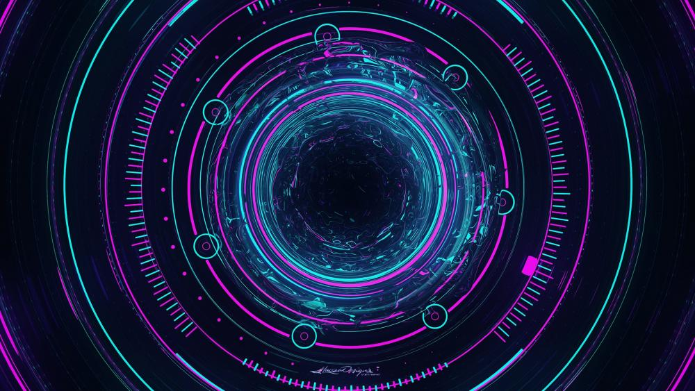 interstellar abstract wallpaper