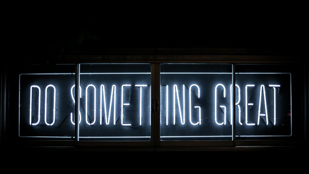 do something great wallpaper