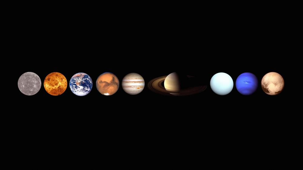 Planets In Our Solar System wallpaper