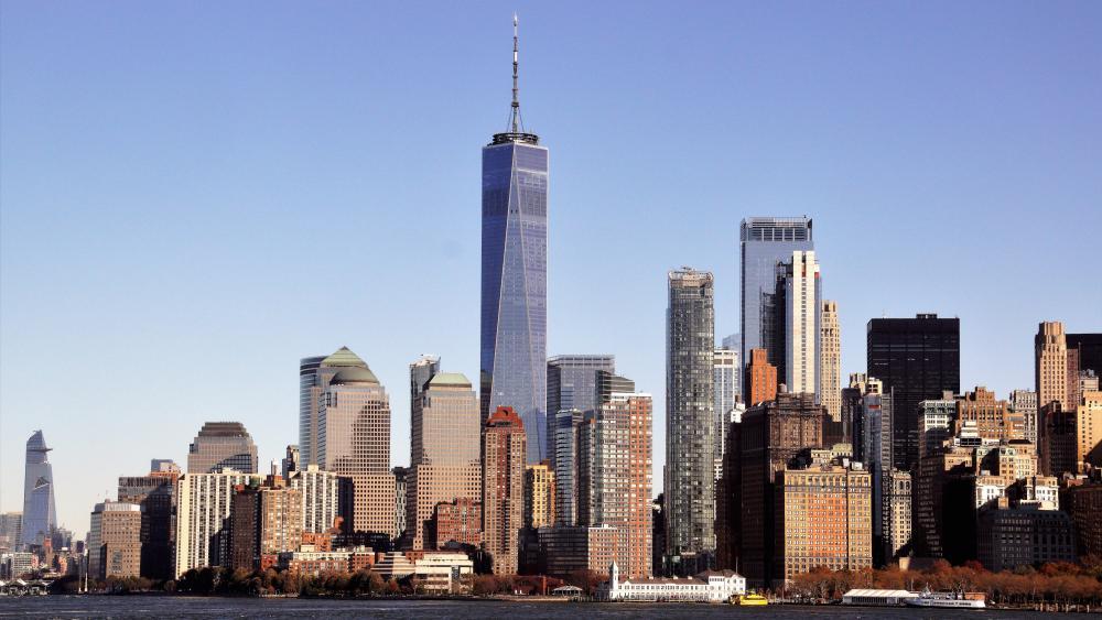 City von Manhattan wallpaper