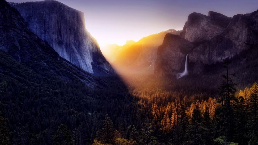Tunnel View (Yosemite Valley) wallpaper