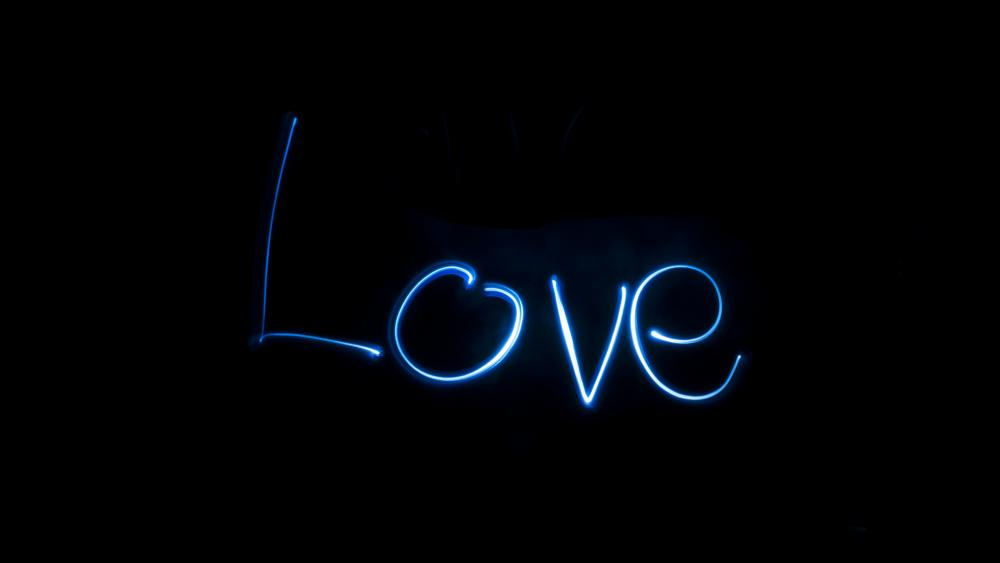 Love light wallpaper