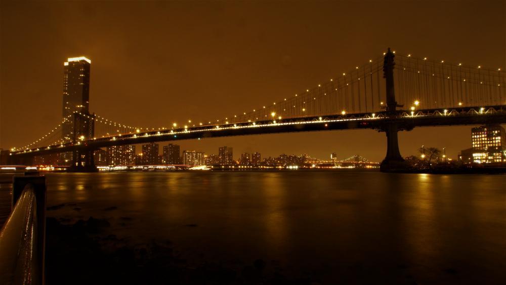 Manhattan Bridge wallpaper