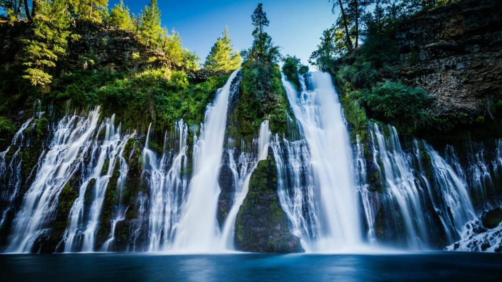 Burney Falls wallpaper