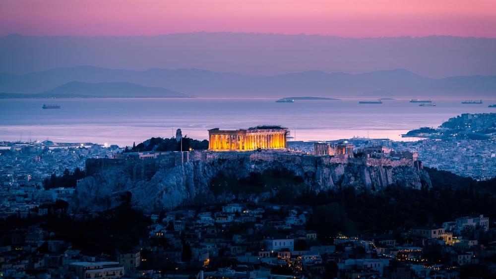 Acropolis wallpaper