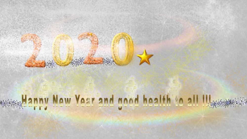 2020 New Year wallpaper