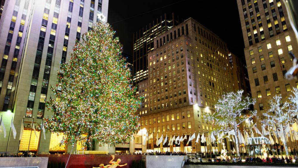 2016 Rockefeller Center Christmas Tree wallpaper