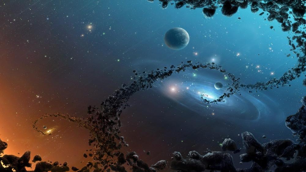 magic of universe wallpaper