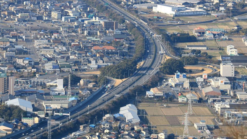 Yaizu Interchange of the Tōmei Expressway wallpaper