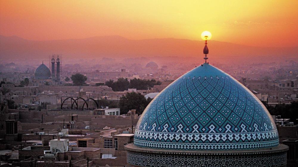 Yazd, Iran wallpaper