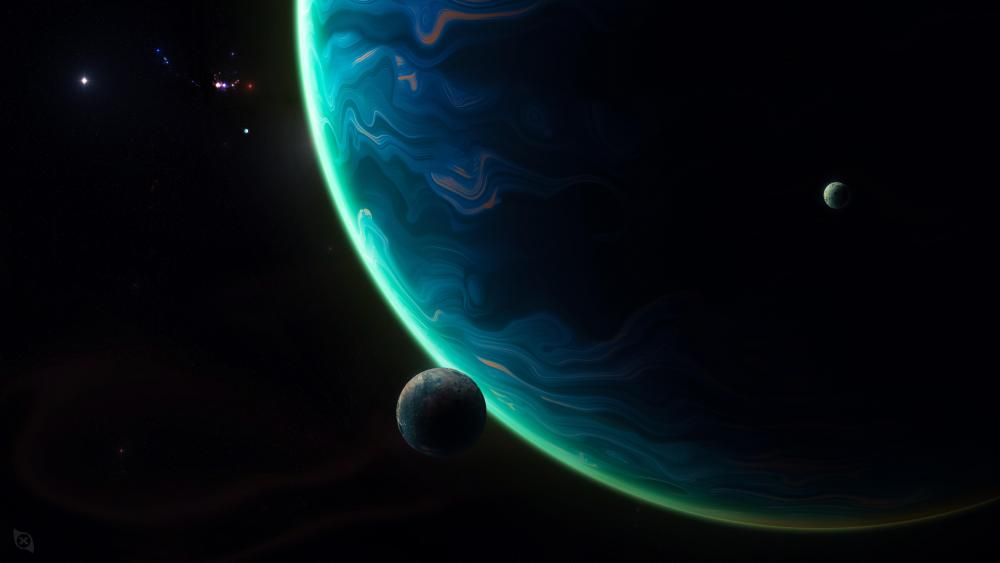 Giant planet wallpaper