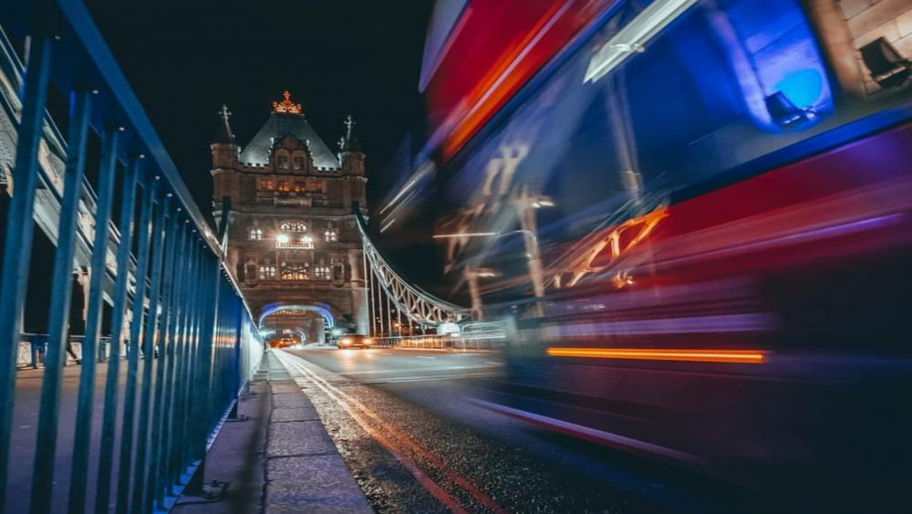 Tower Bridge Long Exposure Photo wallpaper