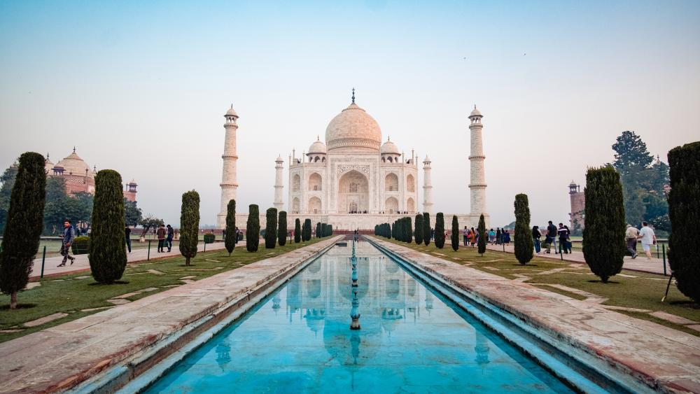 Taj Mahal Mausoleum wallpaper