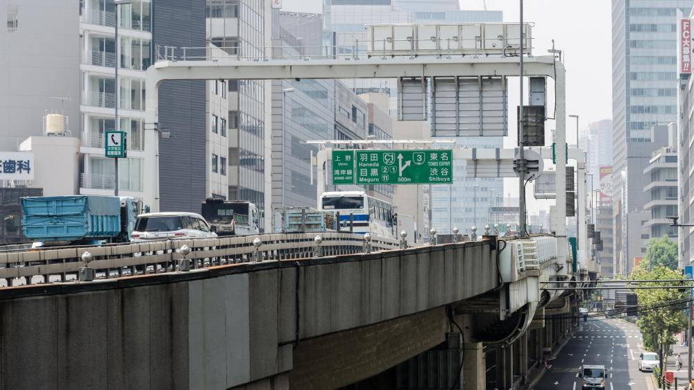 Inner Circular Route of the Shuto Expressway in Tokyo wallpaper