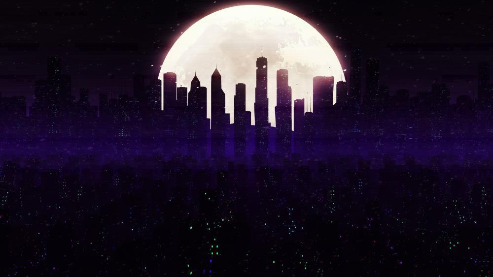 Cityscape Skyline wallpaper