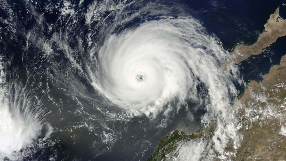 Hurricane Blanca (02E) Approaching Baja California wallpaper