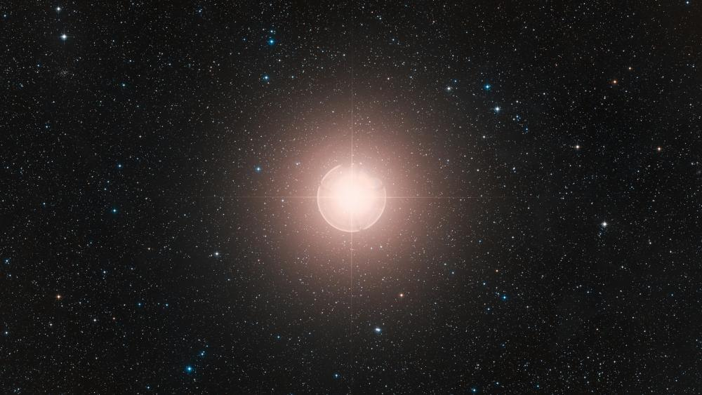 Digitized Sky Survey Image of Betelgeuse wallpaper
