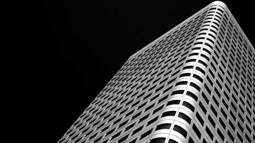 Silberturm Building wallpaper