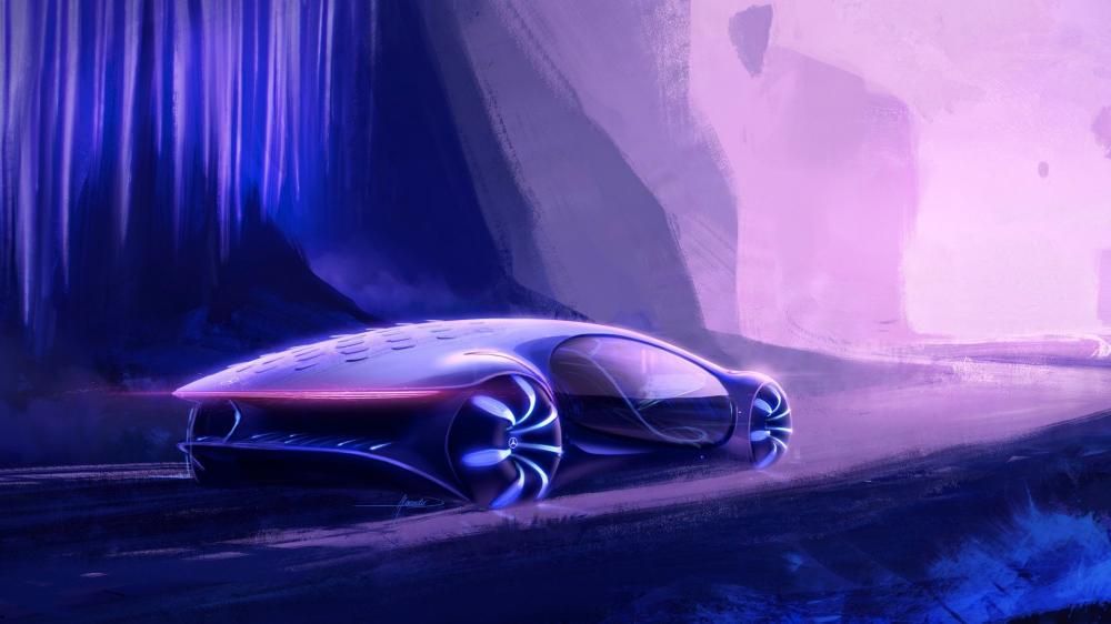 Mercedes Vision Avtr wallpaper