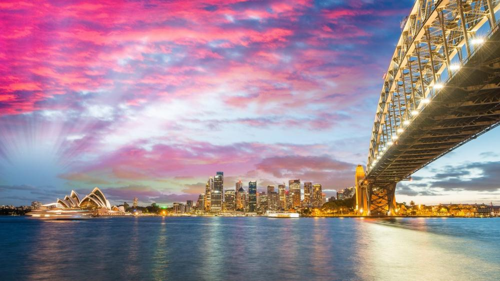 Sydney Harbour Bridge wallpaper
