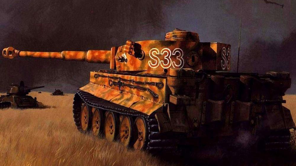 Tiger Tank wallpaper