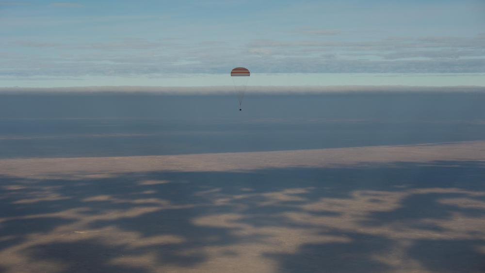 Expedition 49 Landing wallpaper