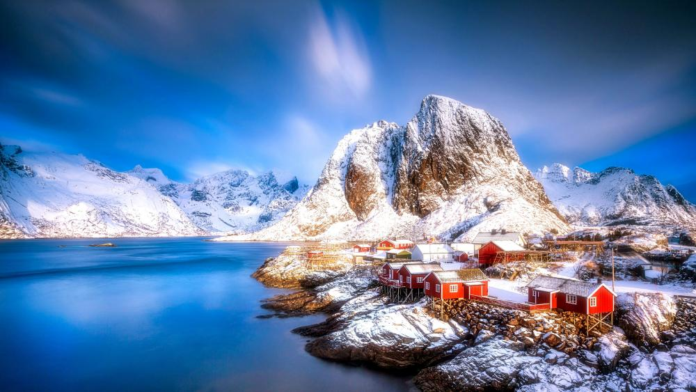 Lofoten islands wallpaper