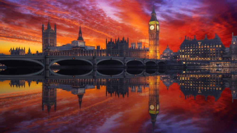 Westminster Bridge wallpaper