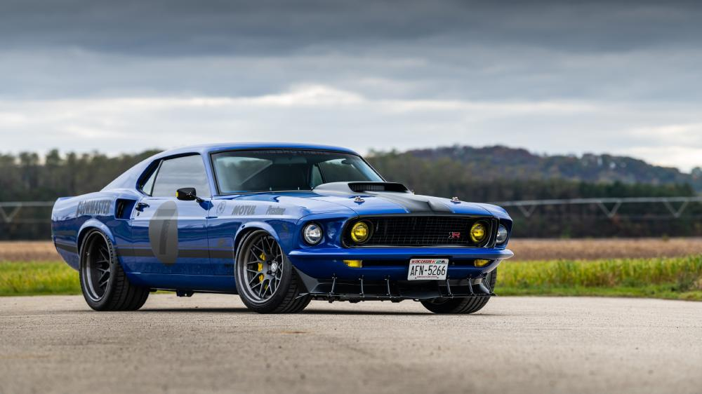 Ford Mustang Mach 1 wallpaper