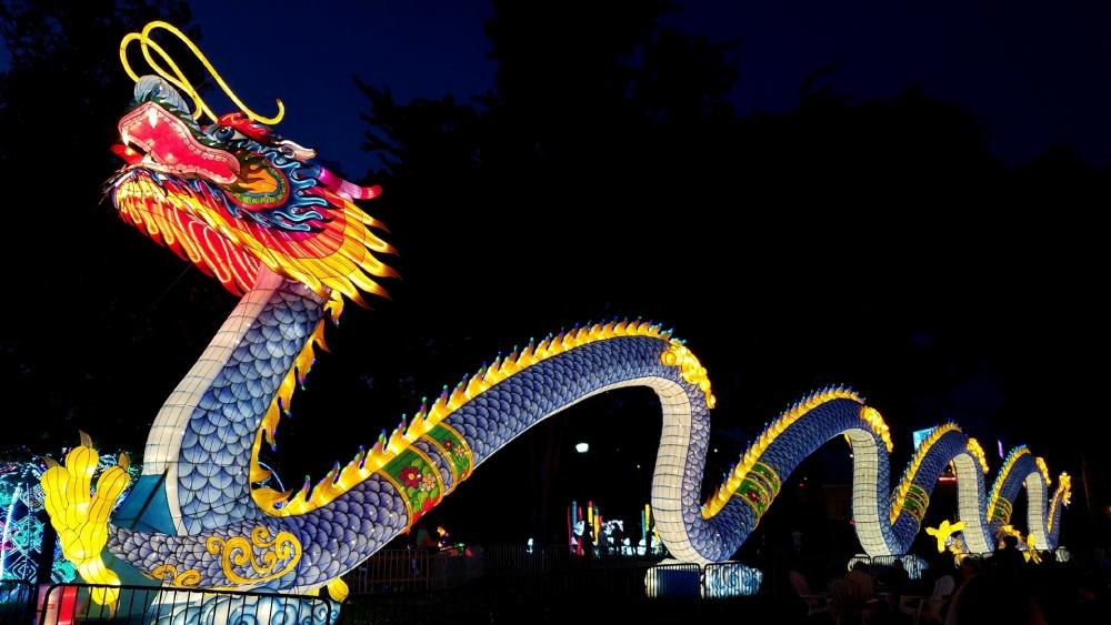 Chinese lantern festival wallpaper