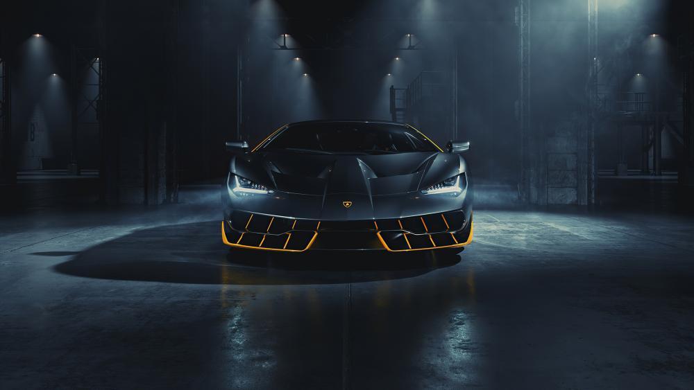 Lamborghini Centenario Front T7 wallpaper