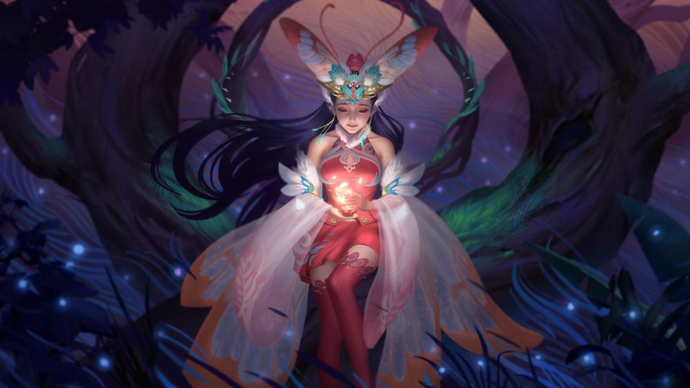 Fairy Queen wallpaper