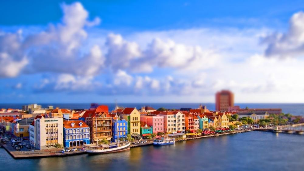 Willemstad Waterfront, Curacao wallpaper