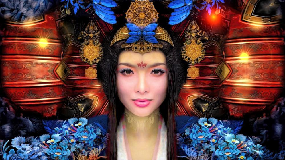 Chinese Woman wallpaper