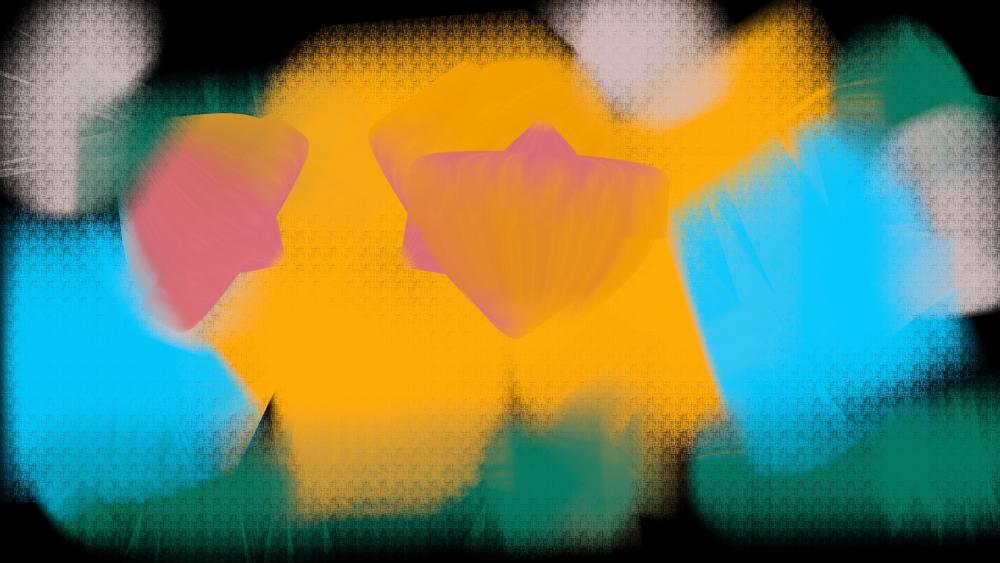 Flowering wallpaper