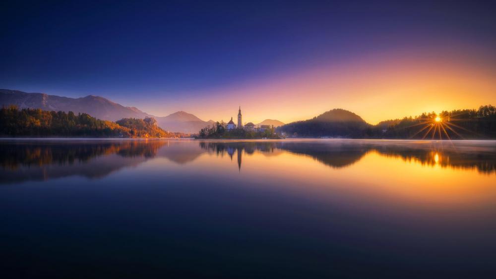 Lake Bled wallpaper