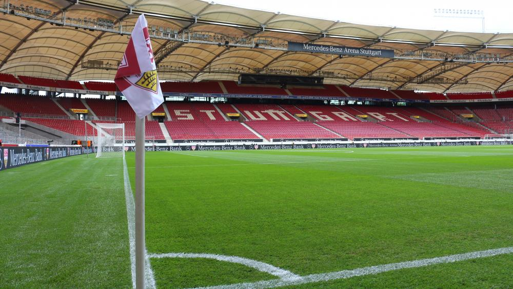 Field at Mercedes-Benz Arena in Stuttgart wallpaper - backiee