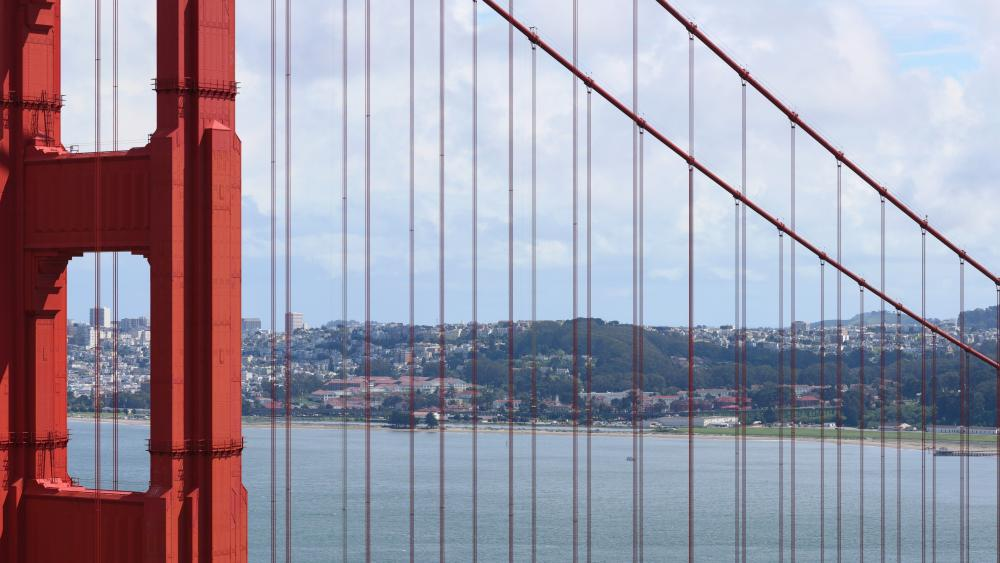 San Francisco & the Golden Gate Bridge wallpaper