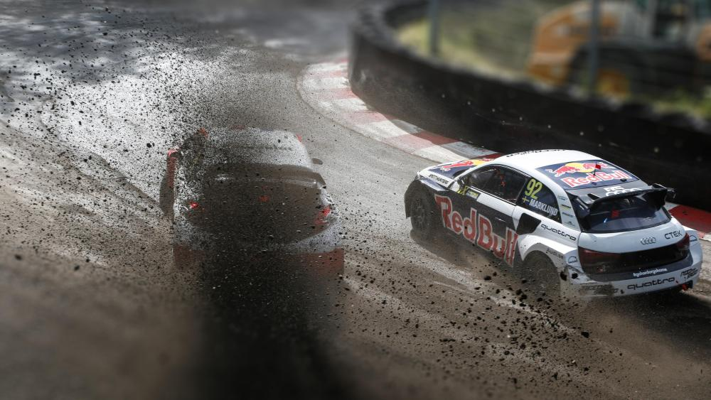 Anton Marklund & Jérôme Grosset-Janin at the 2015 World RX of Germany wallpaper