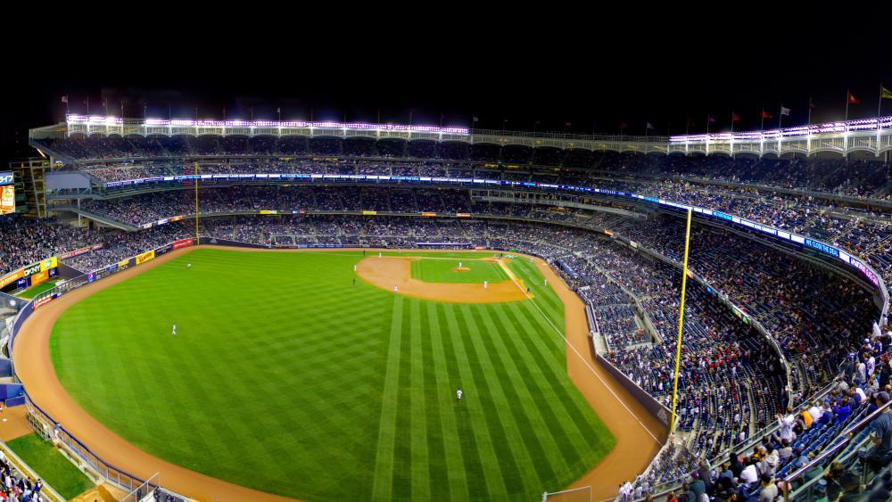 Yankee Stadium Panorama wallpaper