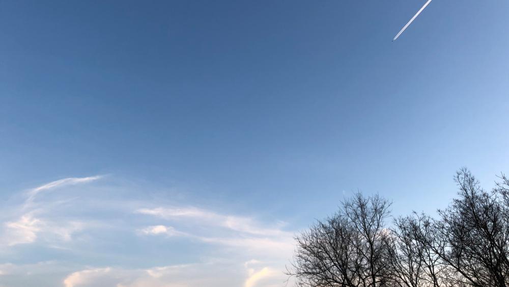 The sky wallpaper