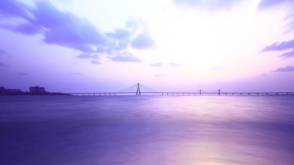 Bandra Worli Sea Link Mumbai wallpaper
