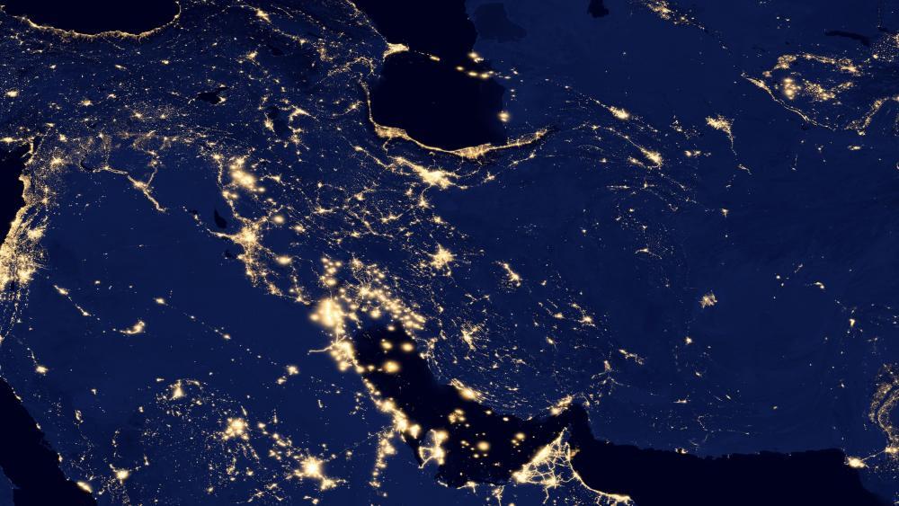 Night Lights of Persia v2012 wallpaper