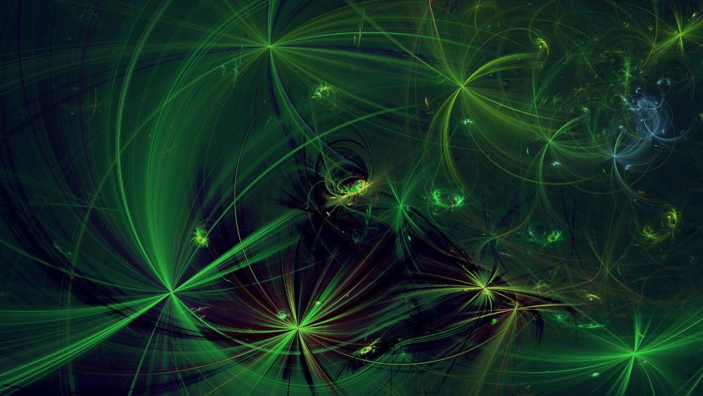 green chaos PartI wallpaper