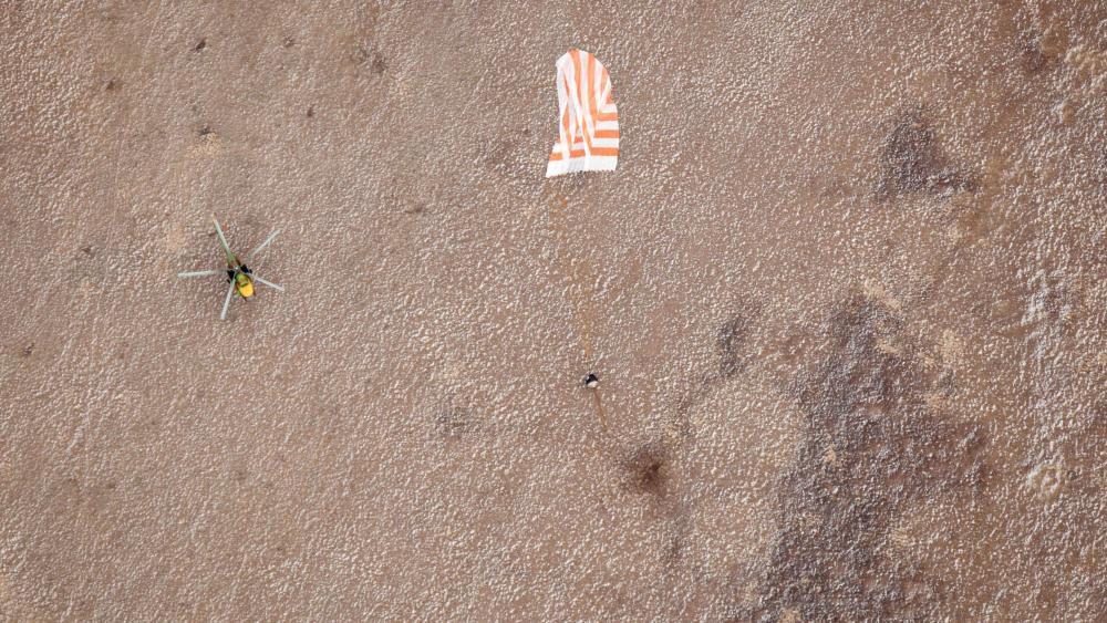 Expedition 25 Soyuz TMA-19 Landing wallpaper
