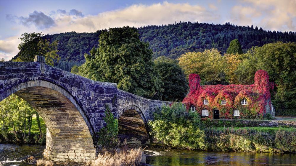 Llanrwst bridge wallpaper