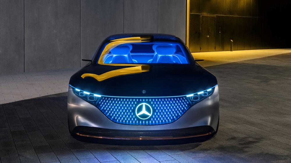 Mercedes Benz Vision EQS wallpaper