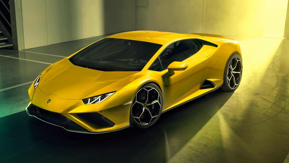 Lamborghini Huracan EVO RWD wallpaper