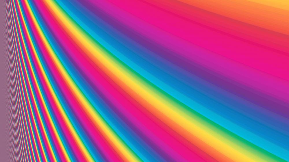 Color spectrum wallpaper
