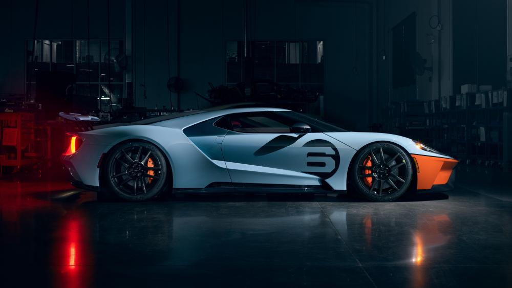 Ford GT Heritage Edition wallpaper